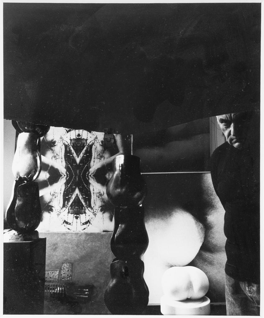 Autoportrait dans son atelier